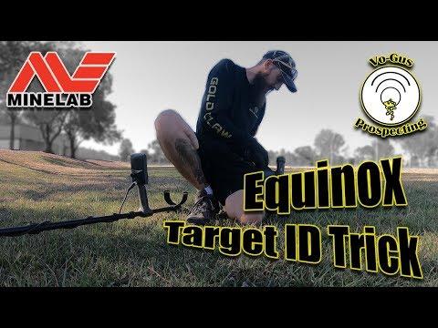 The Minelab Equinox 'Hack' - Target ID Trick.