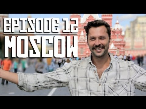moscow - We've reached our final destination, MOSCOW! Watch the entire Trans-Siberian Railway series. http://www.youtube.com/playlist?list=PLUZckUA2Sk-oVNQHh7tlReYwe6...