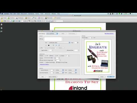 PDF Editing / Missing Fonts on Multiple Pages - (2) Convert text via Acrobat Pro