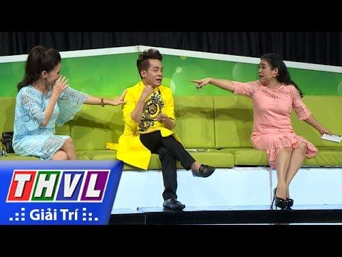 Hai nghệ sĩ Minh Nhí - Thanh Thủy và màn đấu khẩu hài hước trên ghế nóng