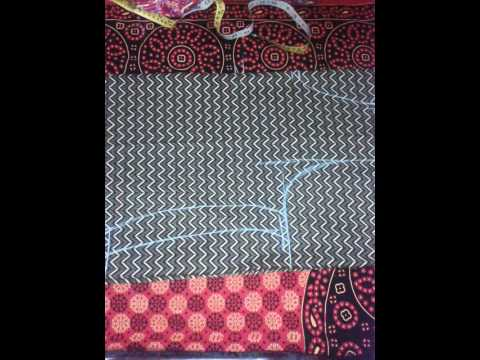 churidar - This is the easy way to cut the kameez.