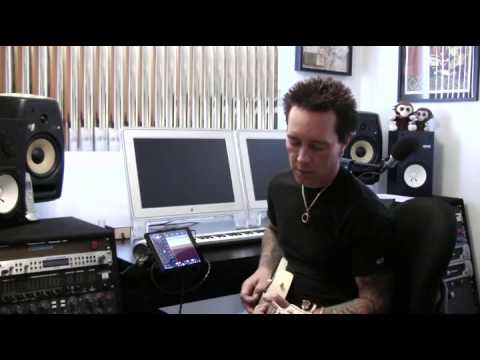 ipad hd - http://www.irighd.com | http://www.amplitube.com/ipad for more information See Billy Morrison, guitarist for Billy Idol and Camp Freddy, show you how to reco...