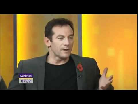 Lucius/Draco Clip during Jason Isaacs interview