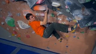 Sandro Is Finally Bouldering With Us! by Eric Karlsson Bouldering