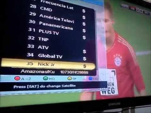 Lista de canales HD Amazonas 61W