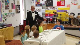 Spitting out Food (the right way) - Table Manners Class - Holly Academy 5th Grade