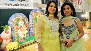 Mampee Nair rocks Prabasi Durga Puja