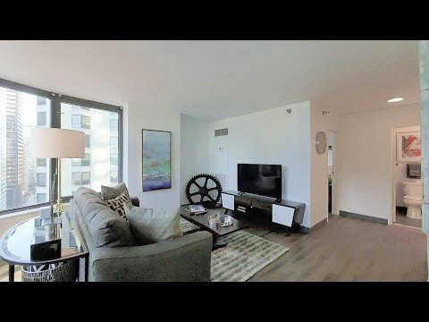 A highly-livable 2-bedroom, 2-bath at 420 East Ohio in Streeterville