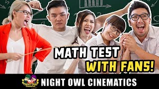 Video Math Test With Fans! Who Is Smarter? MP3, 3GP, MP4, WEBM, AVI, FLV Juni 2019