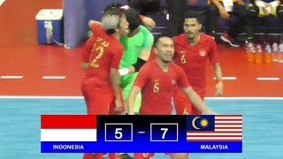 Video Highlights Indonesia Vs Malaysia (5-7) AFF Futsal Championship 2018 MP3, 3GP, MP4, WEBM, AVI, FLV November 2018