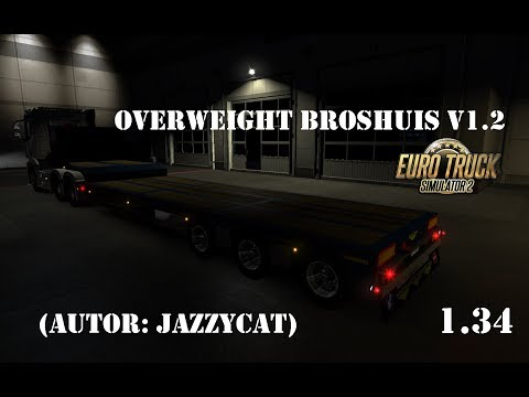 Ownable overweight trailer Broshuis v1.2