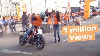 Video KTM orange day stunt show- february 2016 hyderabad MP3, 3GP, MP4, WEBM, AVI, FLV Juni 2017