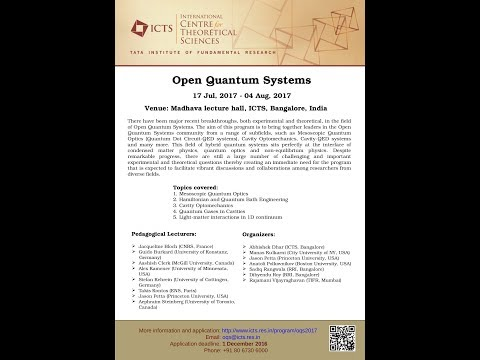 Keldysh Field Theory for Open Quantum Systems: Localization and Quantum Effects by Rajdeep Sensarma