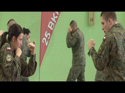 Πολωνία: Ο στρατός παραδίδει μαθήματα αυτοάμυνας σε γυναίκες