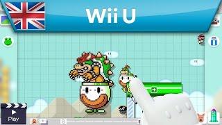 Super Mario Maker - Timelapse Course Creation (Wii U)
