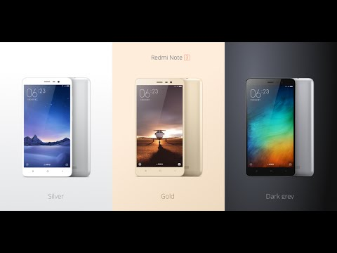 Xiao Mi Redmi Note 3 (100% Original goods) with 1 year warranty