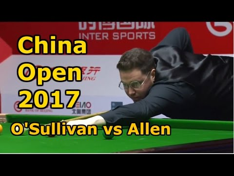 Snooker 2017 - Ronnie O'Sullivan v Gareth Allen ᴴᴰ 2017 - Rocket and G-Force collide in Beijing