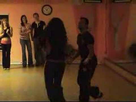 Самба танец Claudio Gomes