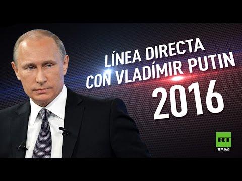 »Línea directa« con Vladímir Putin 2016 (en español)