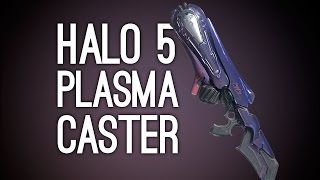 Halo 5 Multiplayer Gameplay: Plasma Caster