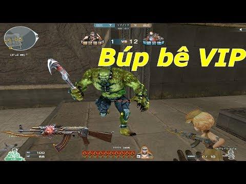 Súng Búp Bê Phiên Bản VIP : Cận Chiến Siêu Chất - Tiền Zombie v4 - Thời lượng: 10 phút.