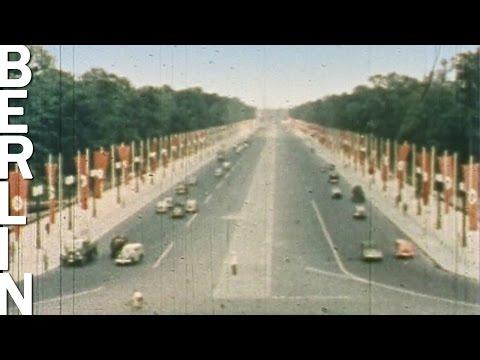 1936: Berlin 1936 (in Farbe) - Historische Farbaufnahme ...