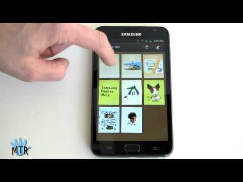 note - Here is Lisa Gade's in-depth review of the Samsung Galaxy Note Android smartphone. Here is Lisa's full written review: http://www.mobiletechreview.com/phones...