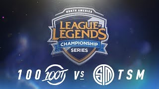 Video 100 vs. TSM - Week 3 Day 2 | NA LCS Spring Split | 100 Thieves vs. TSM(2018) MP3, 3GP, MP4, WEBM, AVI, FLV Juni 2018