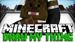 Minecraft Build It (Draw My Thing) Minigame w/ Friends!