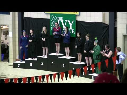 500 Freestyle Award Ceremony 2011 Women's Ivy Champs