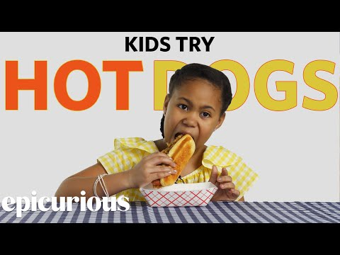 Kids Try Famous Hot Dogs From Around the US