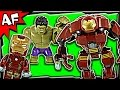 HULKBUSTER Rescue Mission 76031 Lego Marvel Super Heroes Stop Motion Build Review