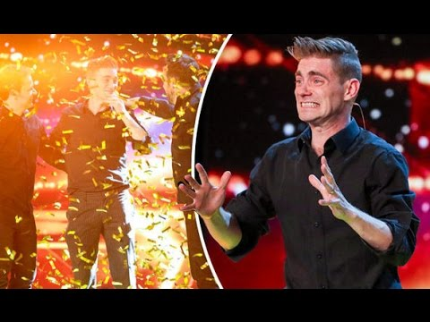 The Funny Magician Get Golden Buzzer
