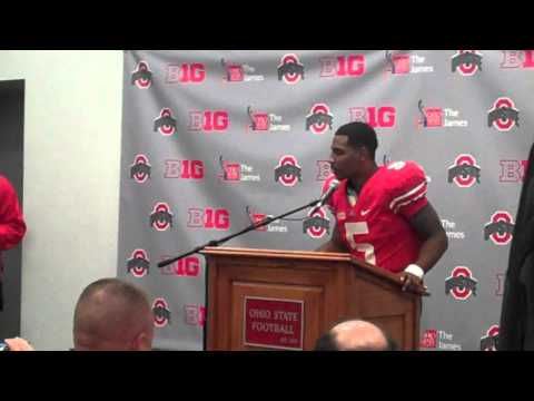 Braxton Miller discusses Nebraska video.