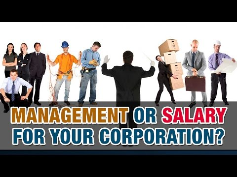 Is it better to receive management fees or salary from your corporation? – Tax Tip Weekly
