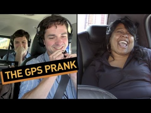 GPS - Technology never ceases to amaze... and insult. See more http://www.collegehumor.com LIKE us on: http://www.facebook.com/collegehumor FOLLOW us on: http://ww...
