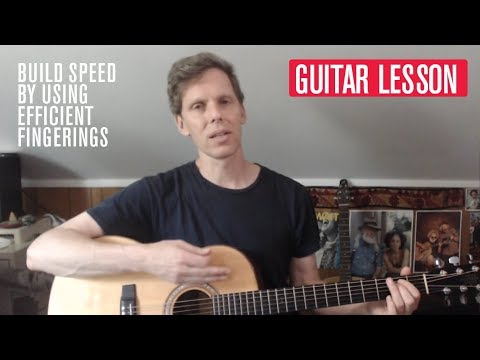 Build Your Speed by Using Efficient Fingerings: Acoustic Guitar Weekly Workout