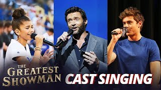 Video The Greatest Showman Cast REAL Singing Voice MP3, 3GP, MP4, WEBM, AVI, FLV April 2018