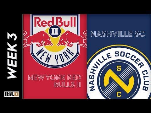 New York Red Bulls II vs Nashville SC: March 24th, 2019