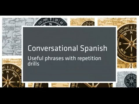 spanish - This lesson is part of the course