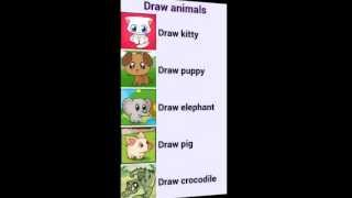 How To Draw Animals YouTube video