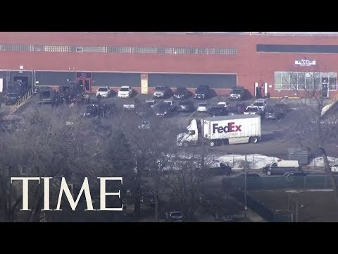 Chicago Police Respond To Reported Active Shooter Situation At A Manufacturing Company | TIME