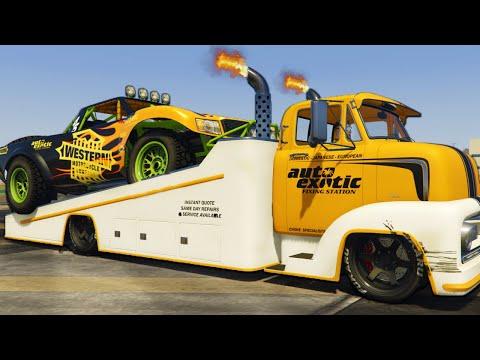 I Bought The New Slam Truck - GTA Online DLC
