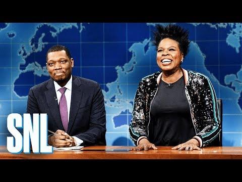 Weekend Update: Leslie Jones' Funeral Plans - SNL