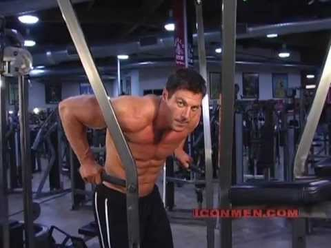 dips - Bodybuilding Superstar Christian Boeving shows you the very fitness exercises he uses to develop his perfectly sculpted shoulders, chest and biceps. As an ex...