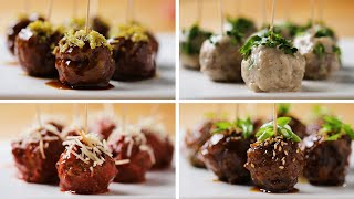 Party Meatballs 4 Ways by Tasty