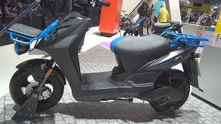 9. Kymco Agility Carry EV Ionex (2019) Exterior and Interior