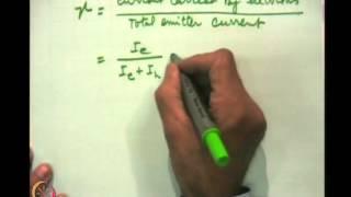Mod-02 Lec-07 Transistors (Continue)