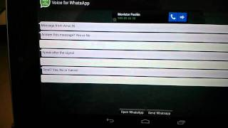 Voice for WhatsApp - Beta YouTube video