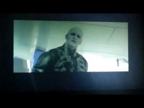 Prometheus - sorry for the bad quality* it was recorded on my phone and i failed to zoom in at the start. This scene was not in the original movie but it was available o...
